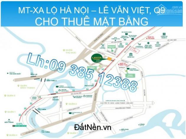 Cho thuê mặt bằng Xa Lộ Hà Nội - gần Lê Văn Việt, Coop Mart, Quận 9