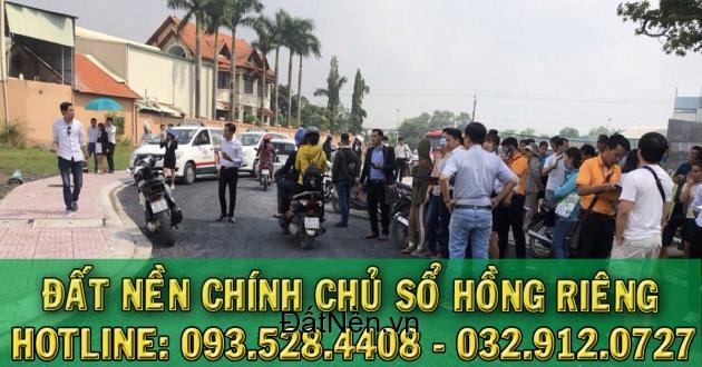 Bán lô đất nền mặt tiền tỉnh lộ 835, khu trung tâm hành chính huyện Cần Đước