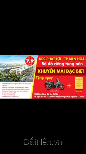 Mặt tiền đường đại lộ Bắc Sơn Long Thành, SHR, cam kết sinh lời nhanh chóng
