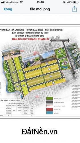 379tr là sở hữu ngay Đất Mặt Tiền NC-N4 rộng 64m trung tâm hành chính huyện Bàu Bàng