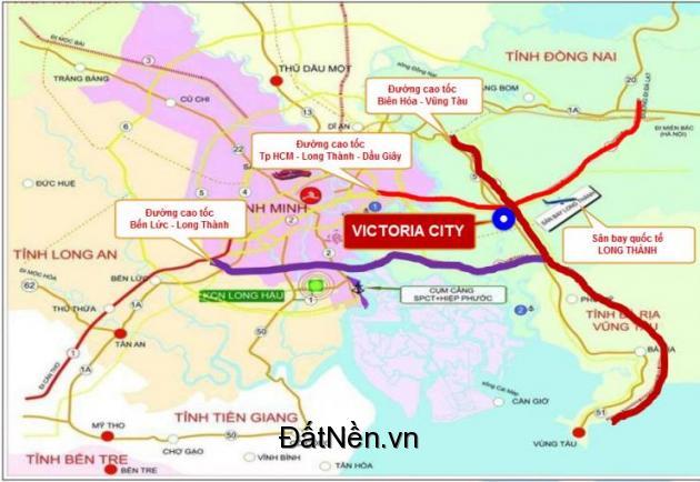 cần bán gấp 1 lô biệt thự KDC An Thuận, Victoria City, sân bay Long Thành, ĐN, 0937012728