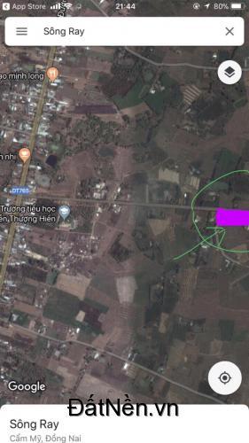 chính chủ cần bán lô đất, gia rẻ hơn thị trường, đường lớn, gàn trường học LHCC 0868292939