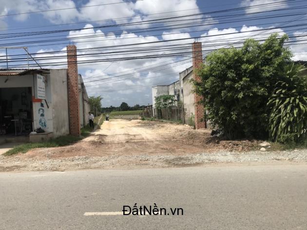 Bán lô đất cách cầu vượt Củ Chi 800m, giá 580tr, dt 151m2
