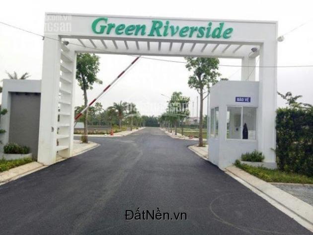 bán đất nền mặt tiền huỳnh tấn phát dự án tại Green Riverside