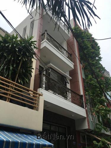 Bán Nhà 2 lầu mặt tiền đường, giáp sông Bình Chánh