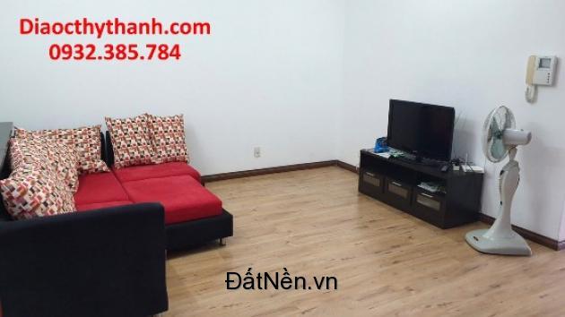 Cho thuê căn hộ 92m nội thất đẹp, giá 15tr/tháng. LH:0932385784.