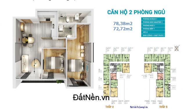 Căn Hộ Cao Cấp, Officetel Central Premium Mặt Tiền Tạ Quang Bửu Q8