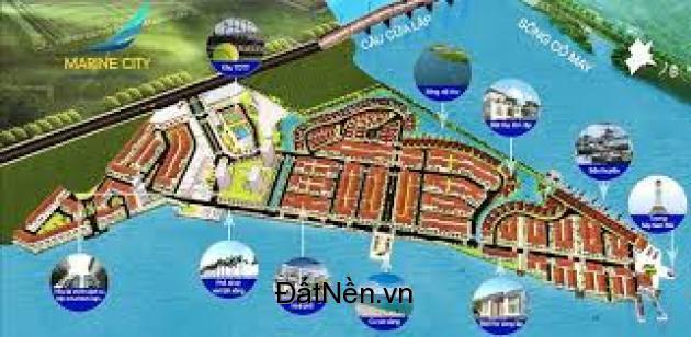 Marine City thành phố sông nước thơ mộng Vinec của Ý trên đất Việt.