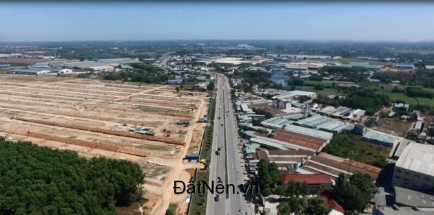 CITY LAND BÌNH DƯƠNG Đất 2 mặt tiền đường DT746, Đối diện KCN Nam Tân Uyên vị trí cực đẹp