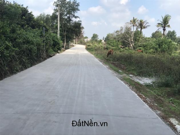 Đất nền ngay chợ Hưng Long, Xã Hưng Thịnh chỉ 190 tr/nền ngay khu dân cư.