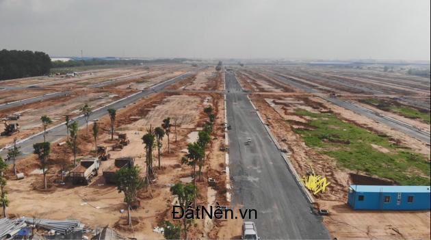 Đất nền KDC Nam Tân Uyên , Cityland Bình Dương mặt tiền đường DT 746 tiềm năng không ngừng .