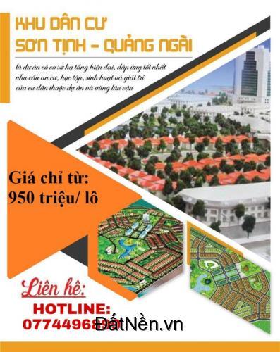 Bán đất nền phân khu mới KDC 577 phường Trương Quang Trọng, tp Quảng Ngãi