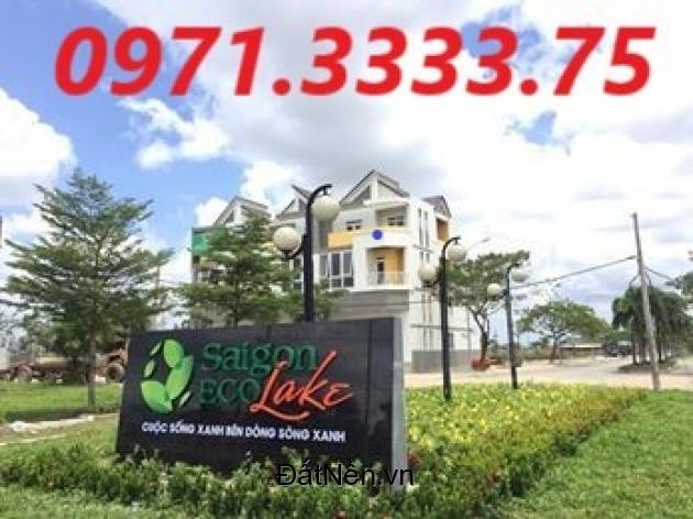 Nhận mua bán ký gửi đất nền Sài Gòn Eco Lake Đức Hòa 3, LH: 0971.3333.75Sài Gòn Eco Lake