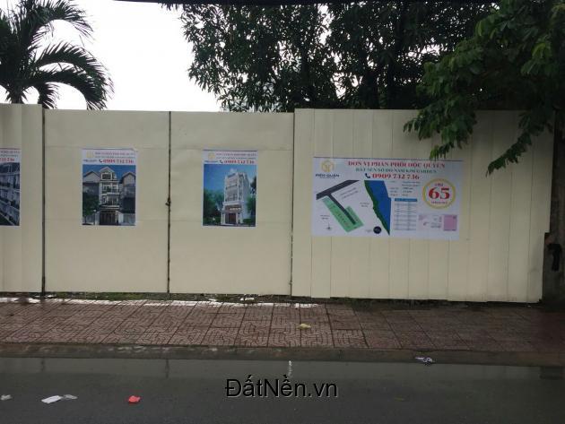 Bán đất sổ đỏ MT Nguyễn Thị Thập (nd) ngay cầu Phú Mỹ Quận 7