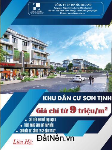 Sở hữu đất nền trung tâm TP Quảng Ngãi chỉ với 399 triệu/ nền. LH: 0374.954.010