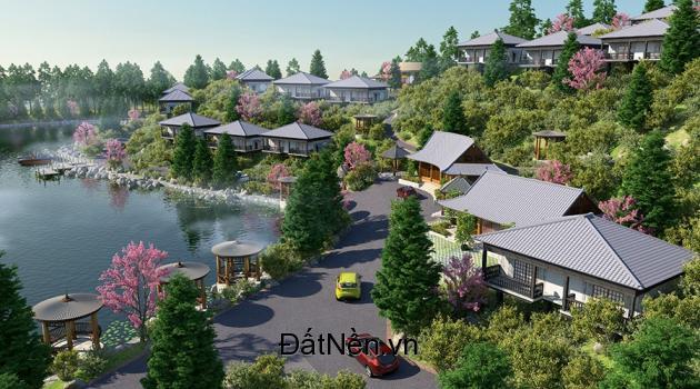 Biệt thự nghỉ dưỡng Ohara Lake View- MÔng Hóa Kỳ Sơn Hòa Bình