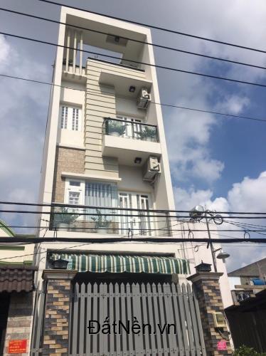 Bán nhà hẻm Tân Hòa Đông- Chiến Lược, Bình Tân. DT 4.5x12m nở hậu, 4 tấm đẹp
