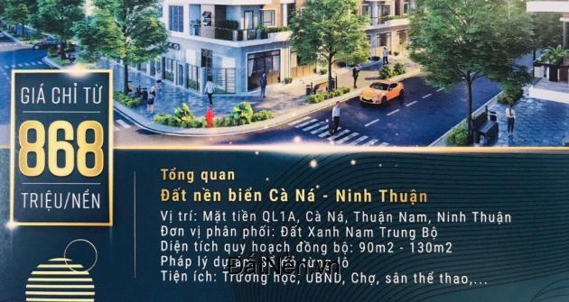 Ra mắt siểu phẩm đất nền sổ đỏ biển Ninh Thuận – Định giá đúng đầu tư trúng