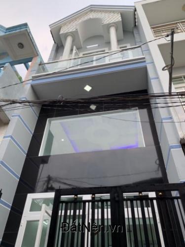 Nhà bán Tân Hòa Đông 3.5x7m đúc 1 tấm mới xây xong giá 2,5 tỷ