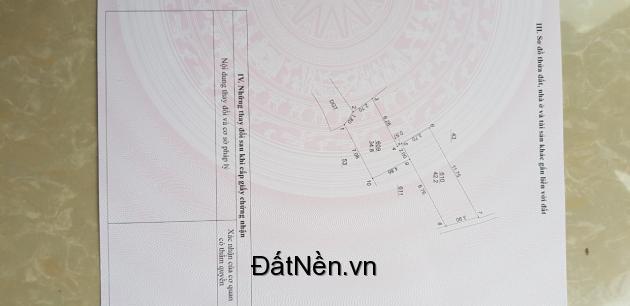 Bán một số mảnh đất tại Song Phượng gần Uỷ Ban Huyện Đan Phượng Hà Nội.