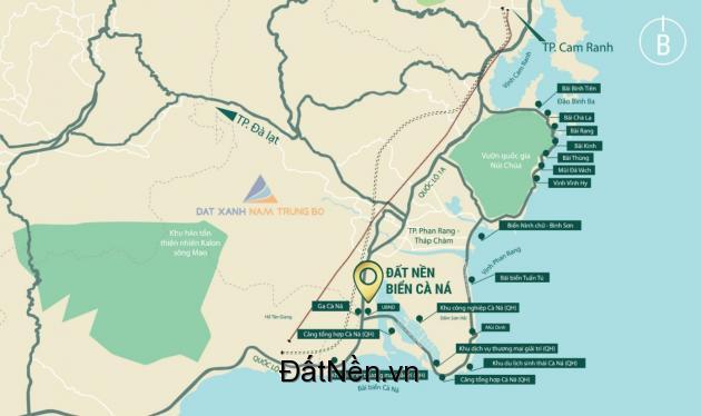 Bán Đất Nền Dự Án Đất Nền Sổ Đỏ KDC Cầu Quằn - Ninh Thuận