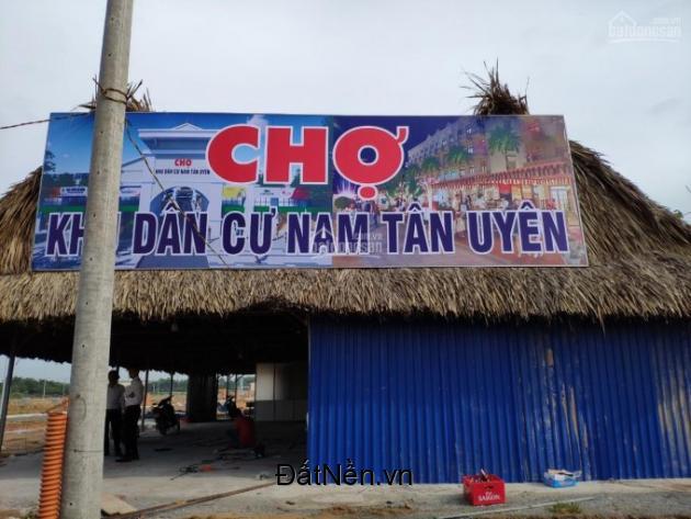 Kẹt tiền bán 2 lô đất đối diện chợ Dự án Nam Tân Uyên vị trí đắc địa, phù hợp đầu tư kinh doanh