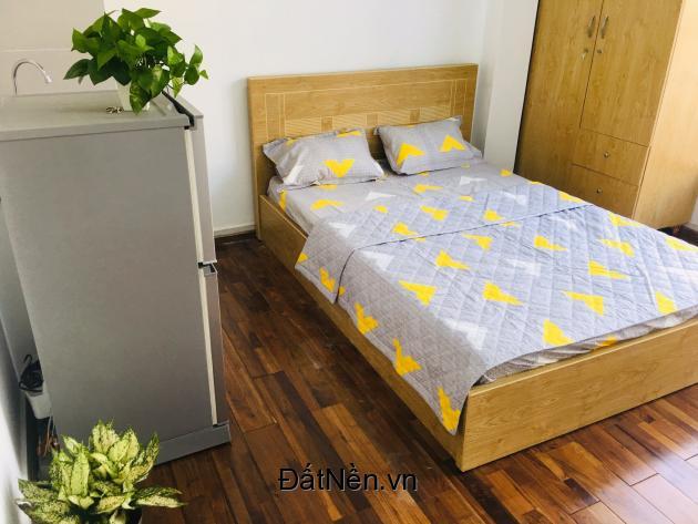 Cho thuê căn hộ dịch vụ full nội thất, dọn vào ở ngay, an ninh đảm bảo.