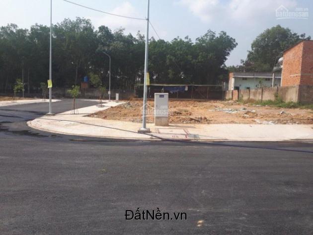 Bán lô đất 770TR/80m2 thổ cư, nằm ngay cổng Vsip2 Vĩnh Tân Tân Uyên sổ hồng có sẵn 0898874443