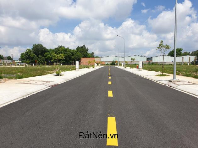 Bán gấp lô đất Tân Uyên Vĩnh Tân 80m2 thổ cư chỉ 790TR, nằm ngay cổng KCN VSIP2 đã có sổ hồng