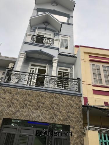 Cần tiền kinh doanh bán nhà 3 tấm đường Tỉnh Lộ 10, P.BTĐ B, Bình Tân. DT 4x17m, 4 phòng ngủ, đường 7m, SỔ HỒNG