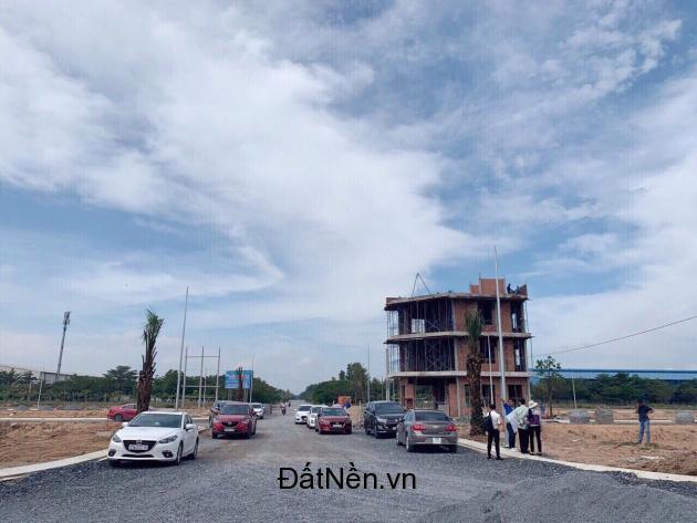 Kẹt tiền bán gấp lô đất KDC Nam Tân Uyên mặt tiền công viên đối diện KCN Nam Tân Uyên