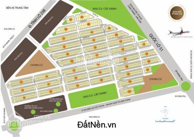 Chủ thiện chí bán 2 lô vị trí đẹp, hướng ĐN, đường N7 gần QL51 tại kdc An Thuận 0868.29.29.39