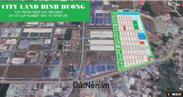 Khu Dân Cư Nam Tân Uyên mặt tiền đường tỉnh lộ DT746, giá gốc CĐT 990Tr cam kết lợi nhuận 30%/năm