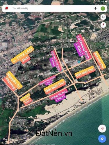 Bán đất biệt thự biển - Lagi Bình Thuận - SHR - chính chủ giá đầu tư.