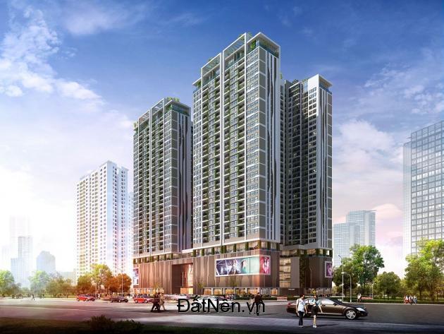 Cho thuê mặt bằng thương mại tầng 1,2  tòa nhà  6th Element, Nguyễn Văn Huyên kéo dài, Tây Hồ, Hà Nội .