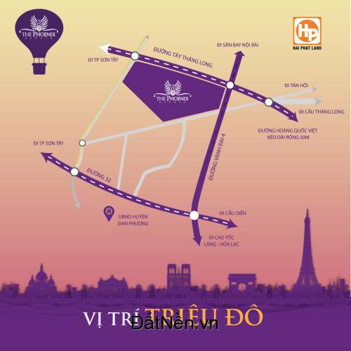 Biệt Thự Sinh Thái khu vực Đan Phượng, giá chỉ từ 26tr/m2, tặng ngay xe máy SH trị gía 100tr