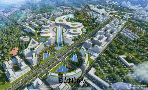 Đất đầu tư Nghi Phong .DT 1400.m2.KT 38x36. Giá 2,2 Triệu/m2.