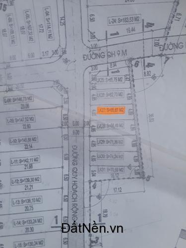 Bán đất quy hoạch Trung Thuận Hưng Đông 66m2 Giá 750 Triệu