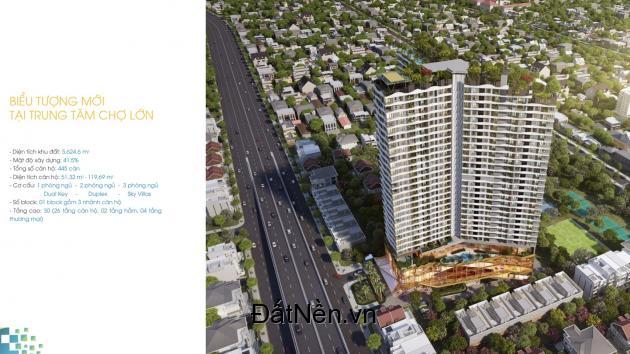 Cần bán căn hộ cao cấp quận 6 D-Homme, căn 2PN, giá chỉ từ 4tỷ