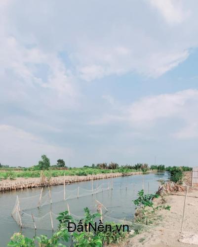 Bán đất vườn ven sông 1000m2 đường ô tô cách Cát Lái 10 phút