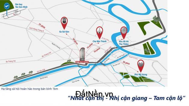 HOT! Căn hộ MT Võ Văn Kiệt TT quận 5  – TAM ĐỨC PLAZA. LH: 0908991827
