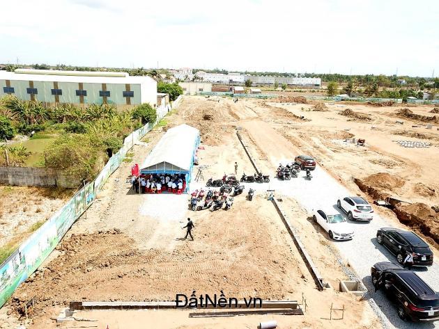 Đất nền thổ cư 100% trung tâm thị trấn Cần Đước