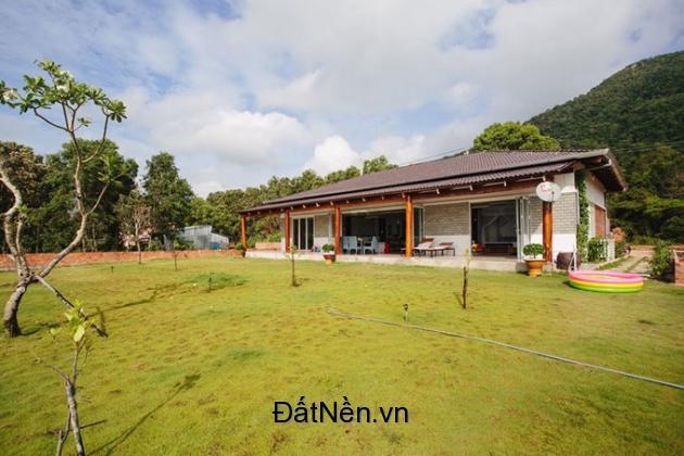 Bán đất nhà vườn đường ô tô phía trước có hồ cá xã Vĩnh Thanh
