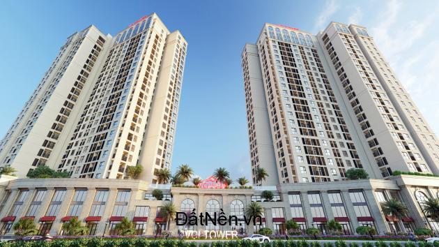 Chung cư VCI đem lại đẳng cấp sống mới giữa một khu quần thể tiện ích của khu cao tầng, thấp tầng.