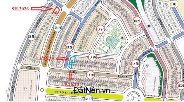 (HotNew) Suất ưu tiên sở hữu 3 lô góc siêu đẹp tại dự án Danko City. Liên hệ: 085.949.1986