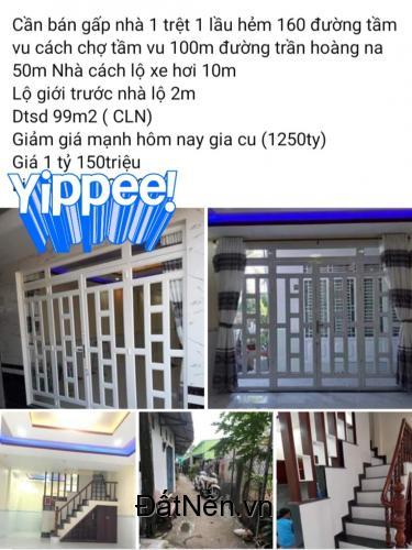 Chính chủ cần bán nhà tại : Phường Hưng Lợi- Quận Ninh Kiều
