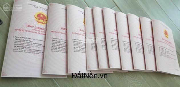 HOT! Đất nền sổ đỏ Phú Xuân Nhà Bè đường Huỳnh Tấn Phát-Công chứng ngay.LH:0908991827
