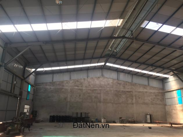 Chính chủ cần cho thuê nhà xưởng tổng diện tích khoảng 6000m2 tại huyện Việt Yên