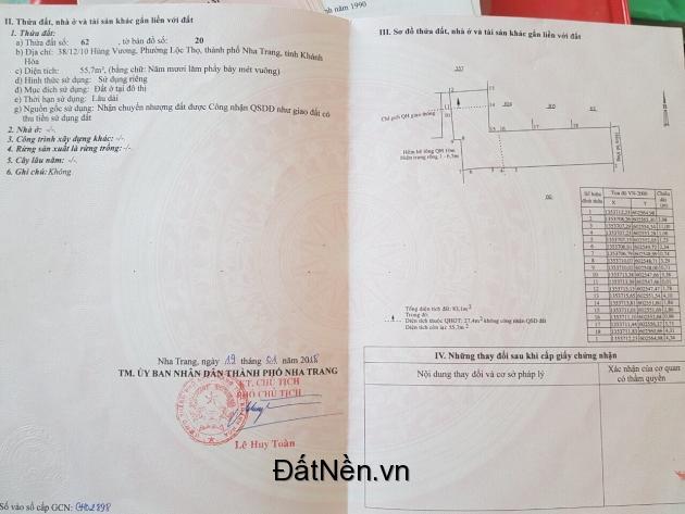 Chính Chủ Cần Bán Nhà Vị Trí Đẹp Đang Cho Thuê Trọ Tại Thành phố Nha Trang, Tỉnh Khánh Hòa