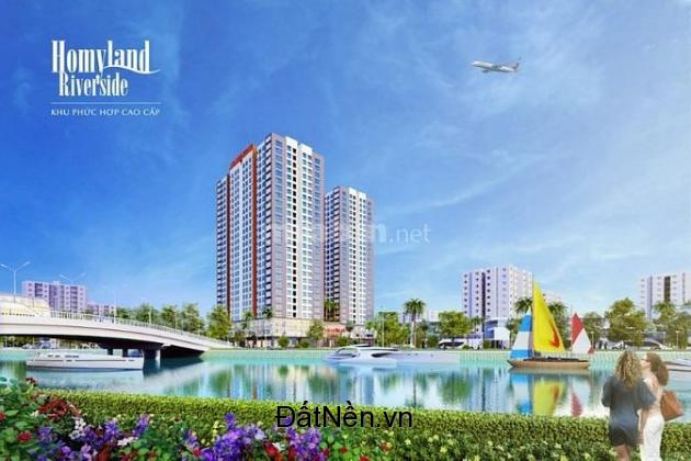 Chính chủ cần bán gấp căn hộ cao cấp view đẹp MT hồ bơi , mới bàn giao Homyland riverside 0907 394 838